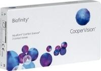Biofinity Kontaktlinsen für den anspruchsvollen Kontaktlinsenträger geeignet
