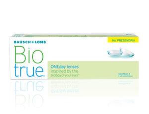 Biotrue-1-Day-Presbyopia für alle Entfernungen.