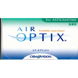 AirOptix for Astigmatism aus Silikon-Hydrogel das eine 5 x höhere Sauerstoffdurchlässigkeit und somit Ihre Augen aufatmen lässt.
