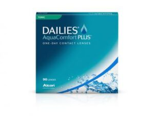 Dailies Aquacomfort Toric für Toric-Linsenträger.