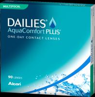Dailies Aquacomfort Plus Multifocal für bestes Sehen in jeder Entfernung.